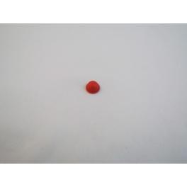 Bouton caoutchou rouge pour Stirella